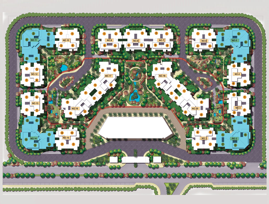 Century City New Cairo Masterplan