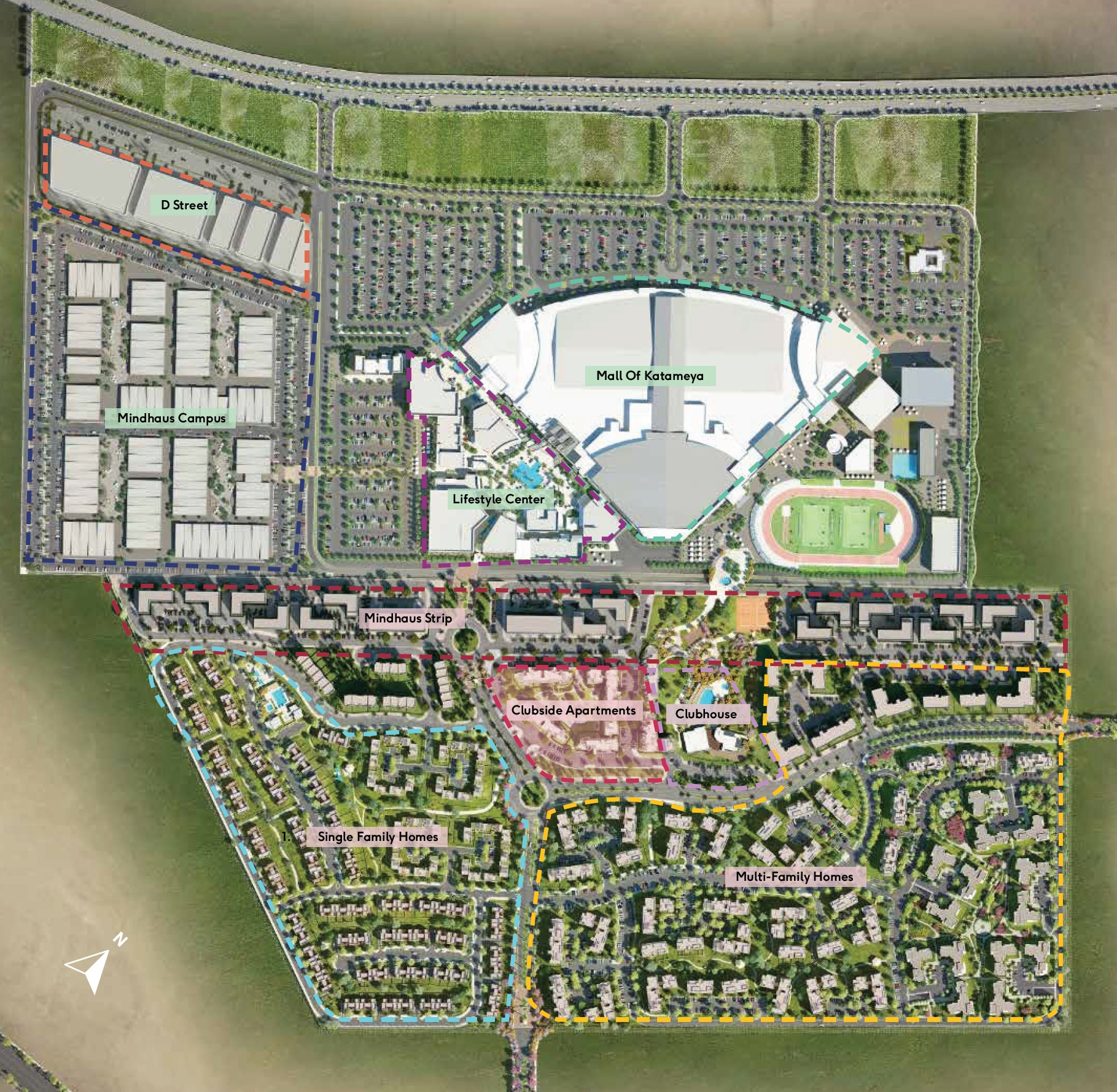 District-5-New-Cairo-Master-Plan