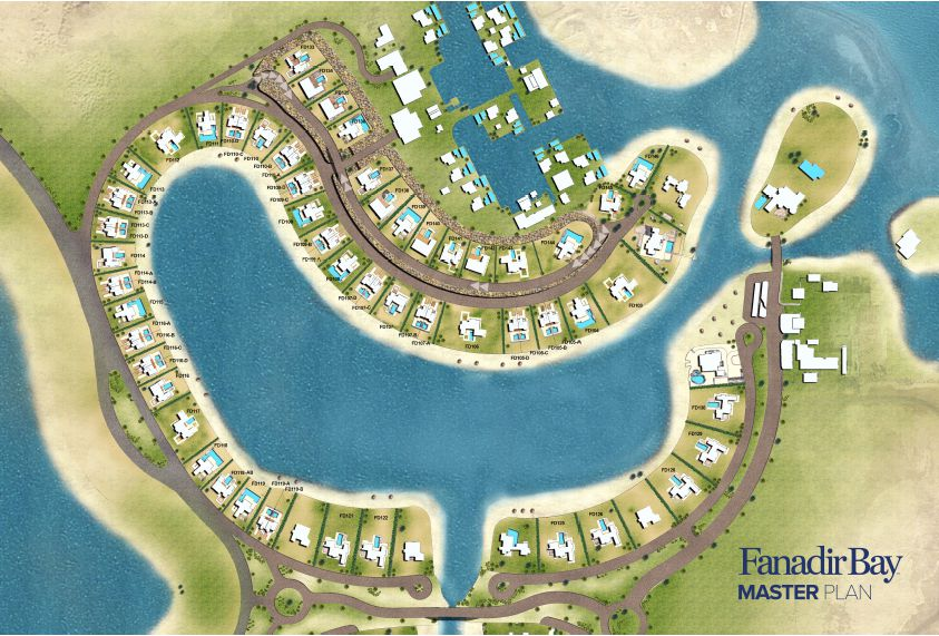 Master Plan for Fanadir Bay El Gouna