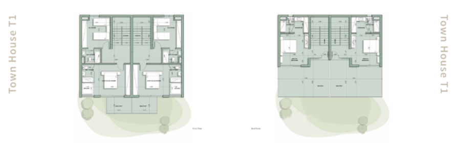Master Plan for Townhouse in IL Monte Galala