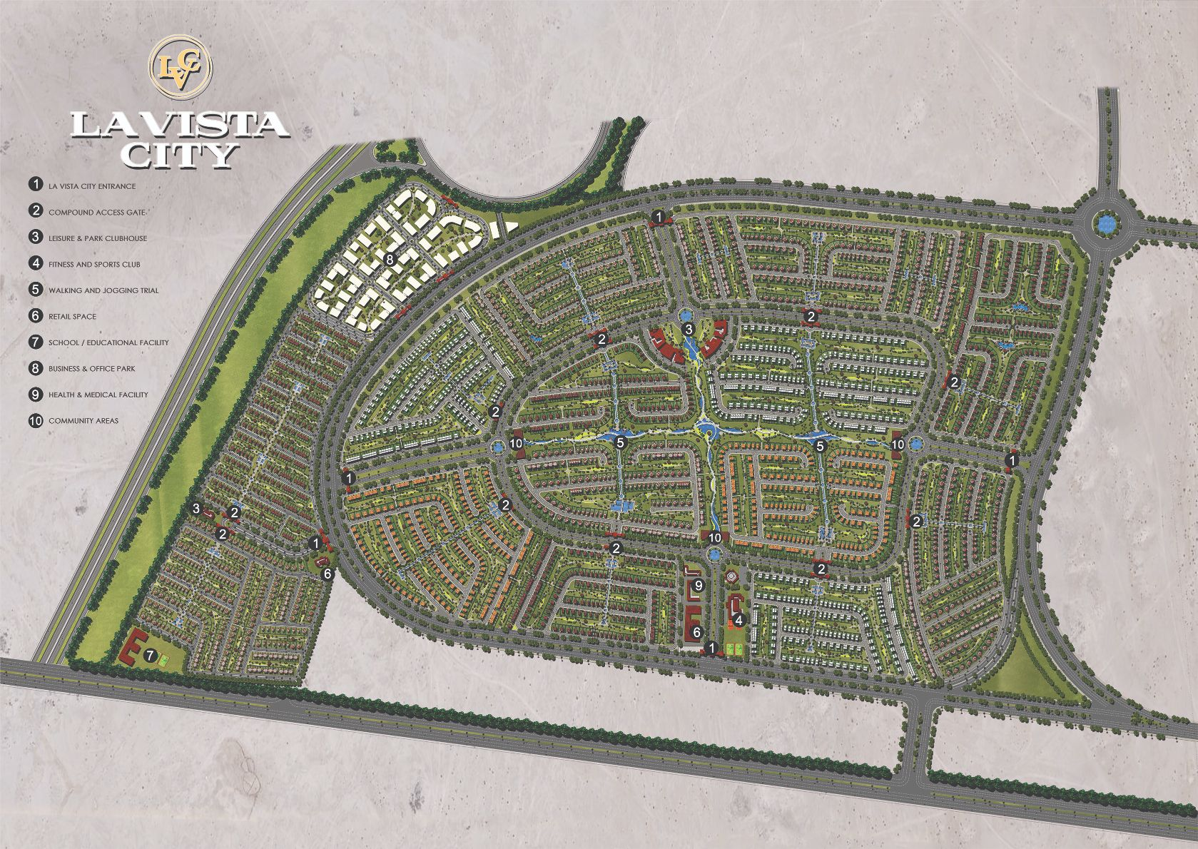 La Vista City Master Plan