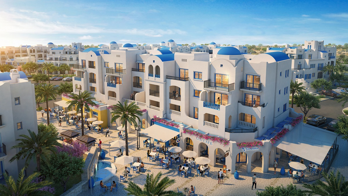 The Greek Village Apartments in Marassi