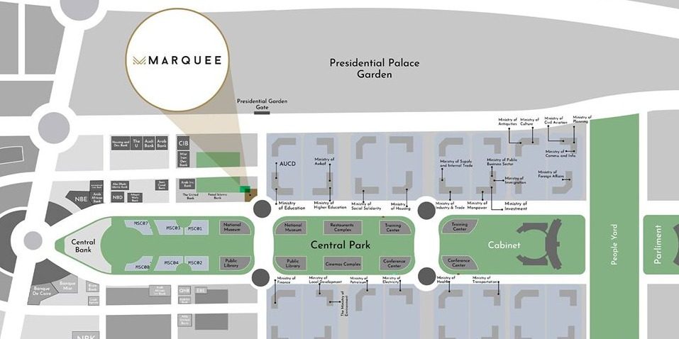 Marquee Mall New Capital location