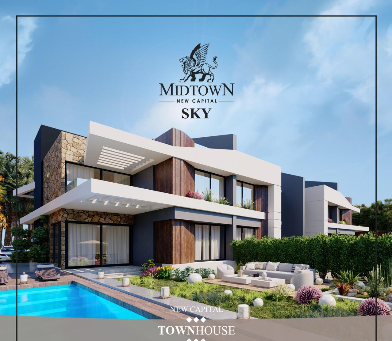 Midtown-Sky-New-Capital-Villa-townhouse-for-sale