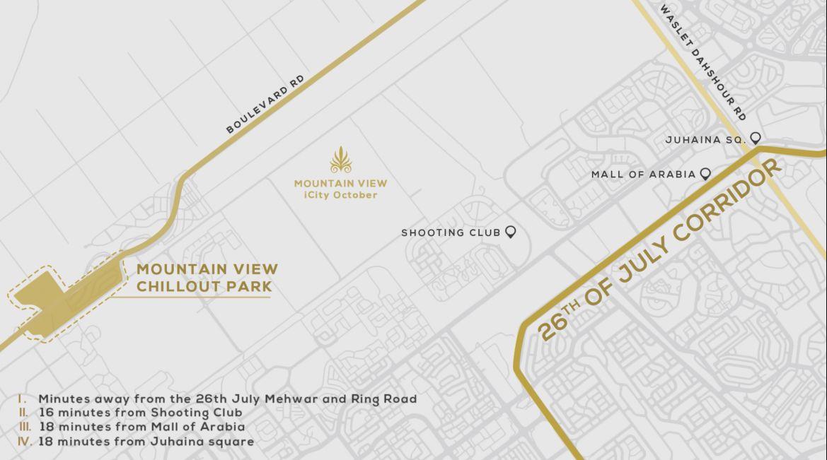 Location of Mountain View Chillout Park compound
