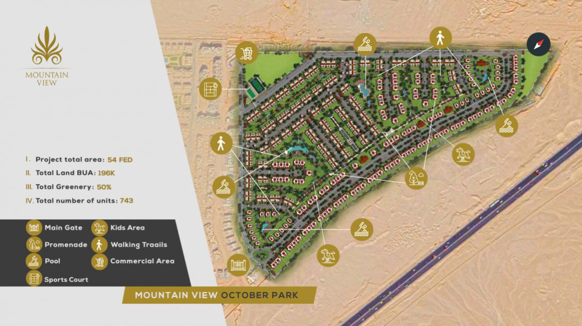 Master Plan for Mountain View October Park Compound