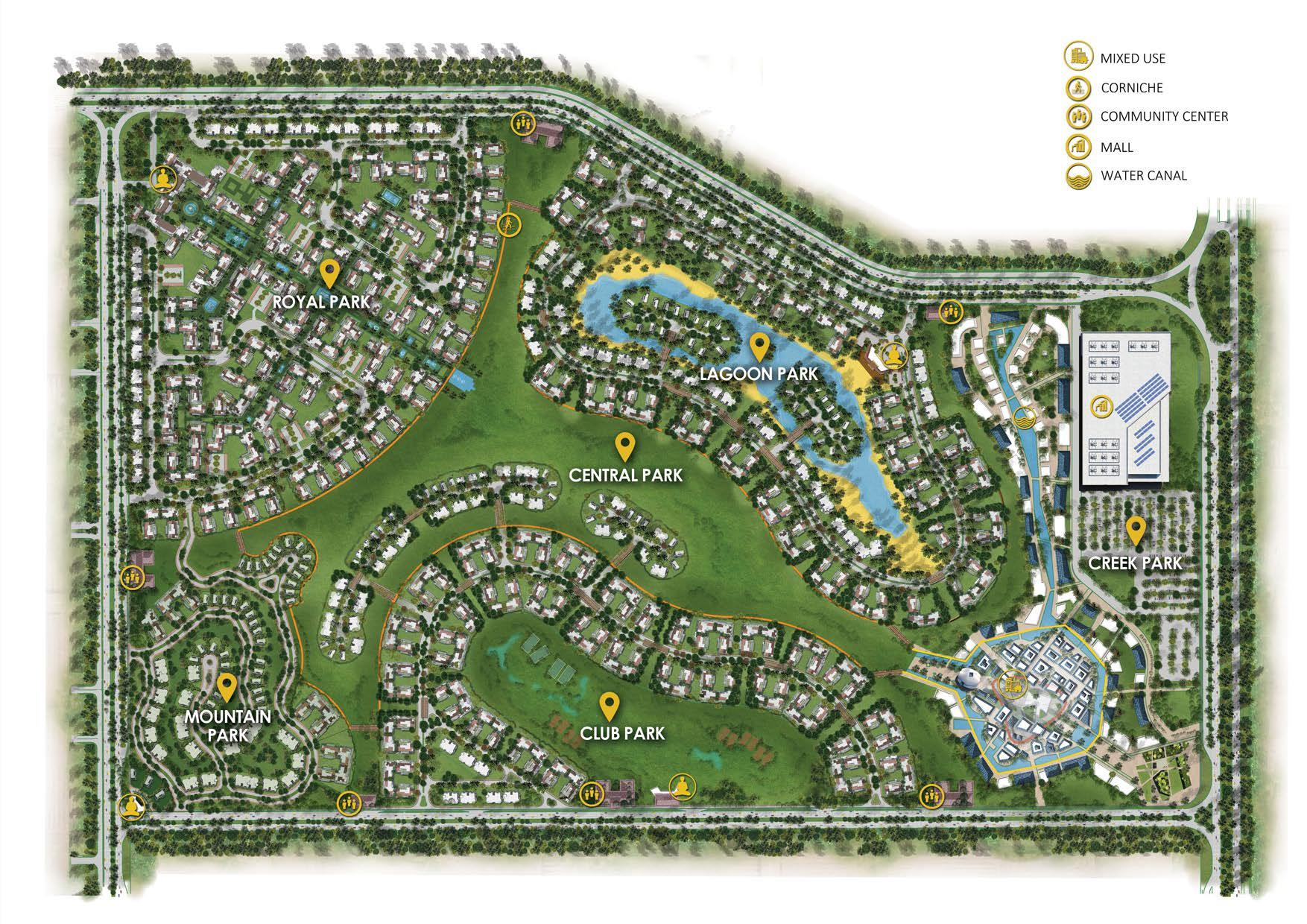 Details-icity-new-cairo-master-plan