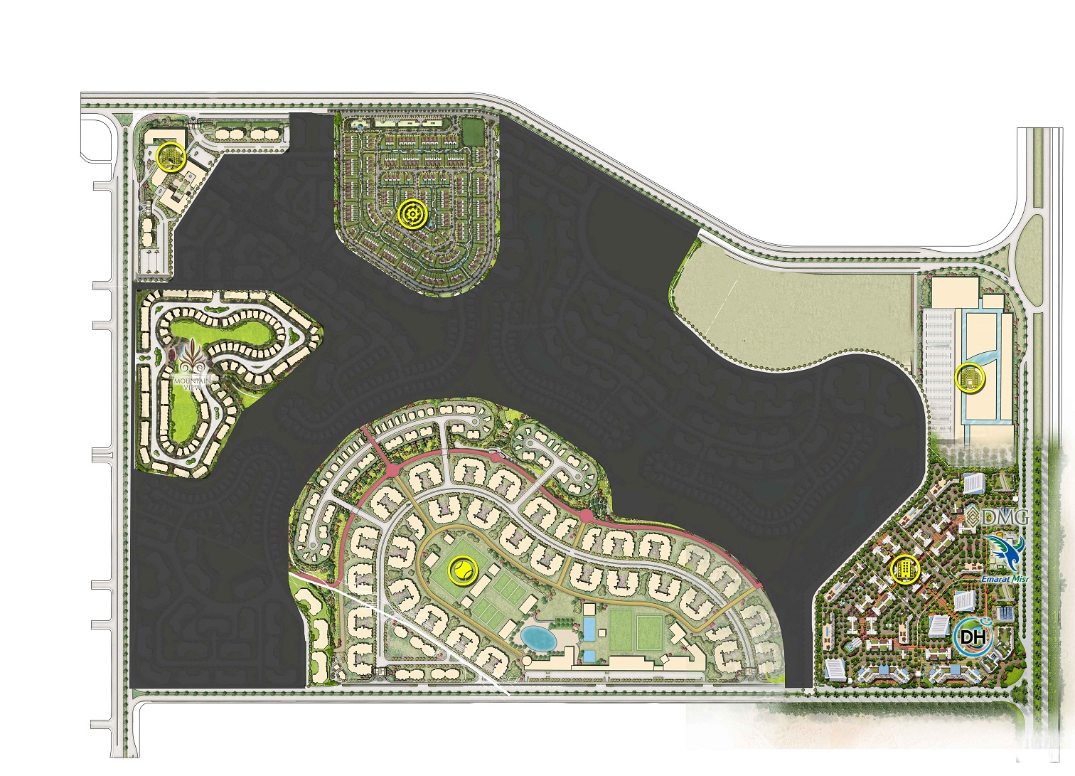 Mountain-View-Icity-New-Cairo-Master-Plan