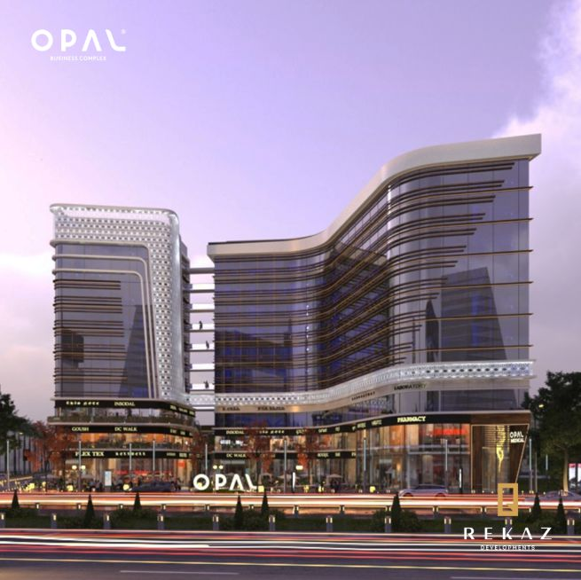 Opal Business Complex Mall New Capital