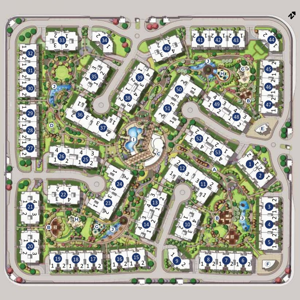 October Plaza Master Plan