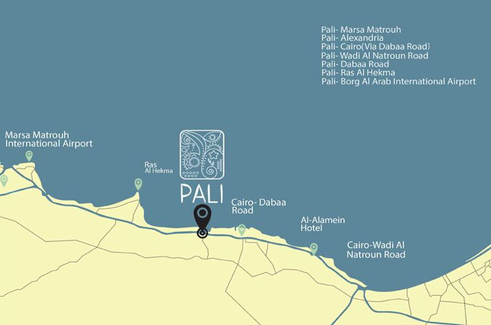 Location of Pali by El Shahawi Group