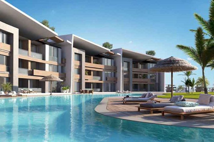 Units and Swimming Pool in Pali Resort