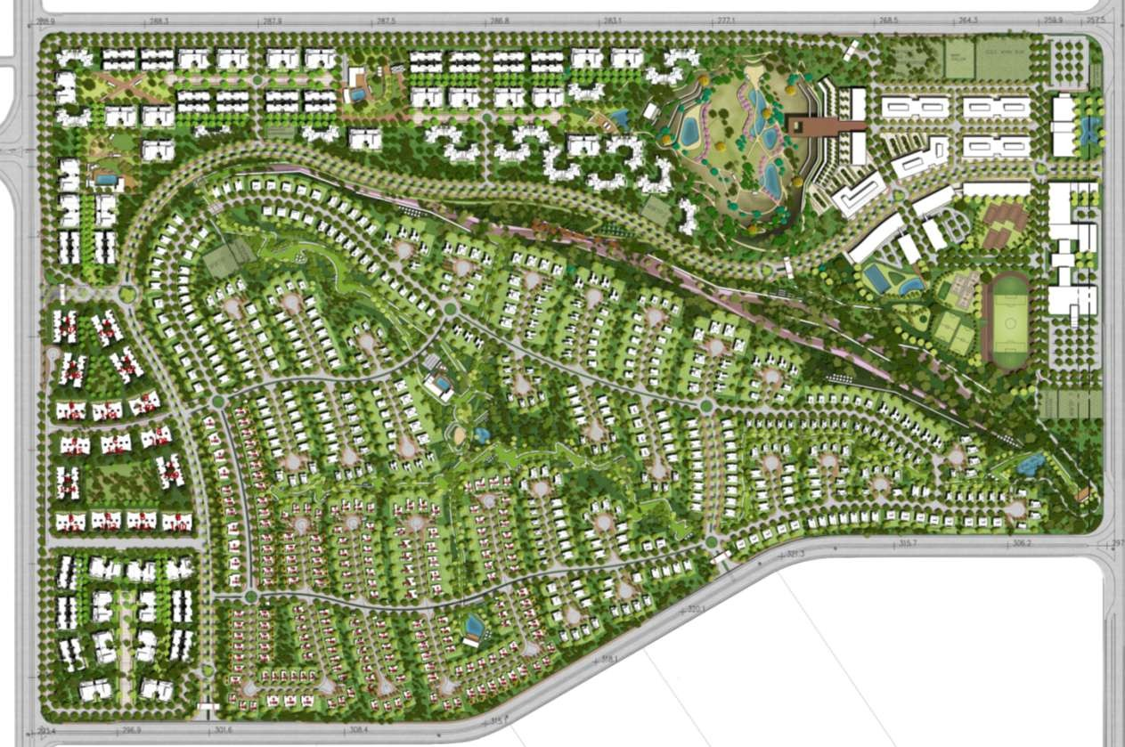 Palm Hills New Cairo Master Plan