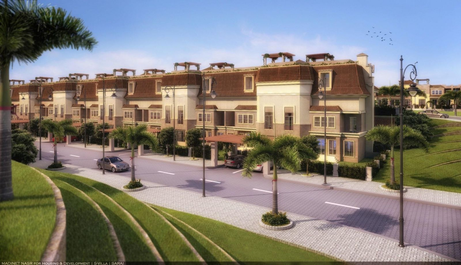 Town-Houses-For-Sale-in-Sarai-New-Cairo