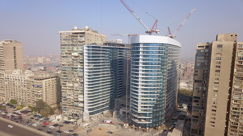 SECON NILE TOWERS-IN-Maadi