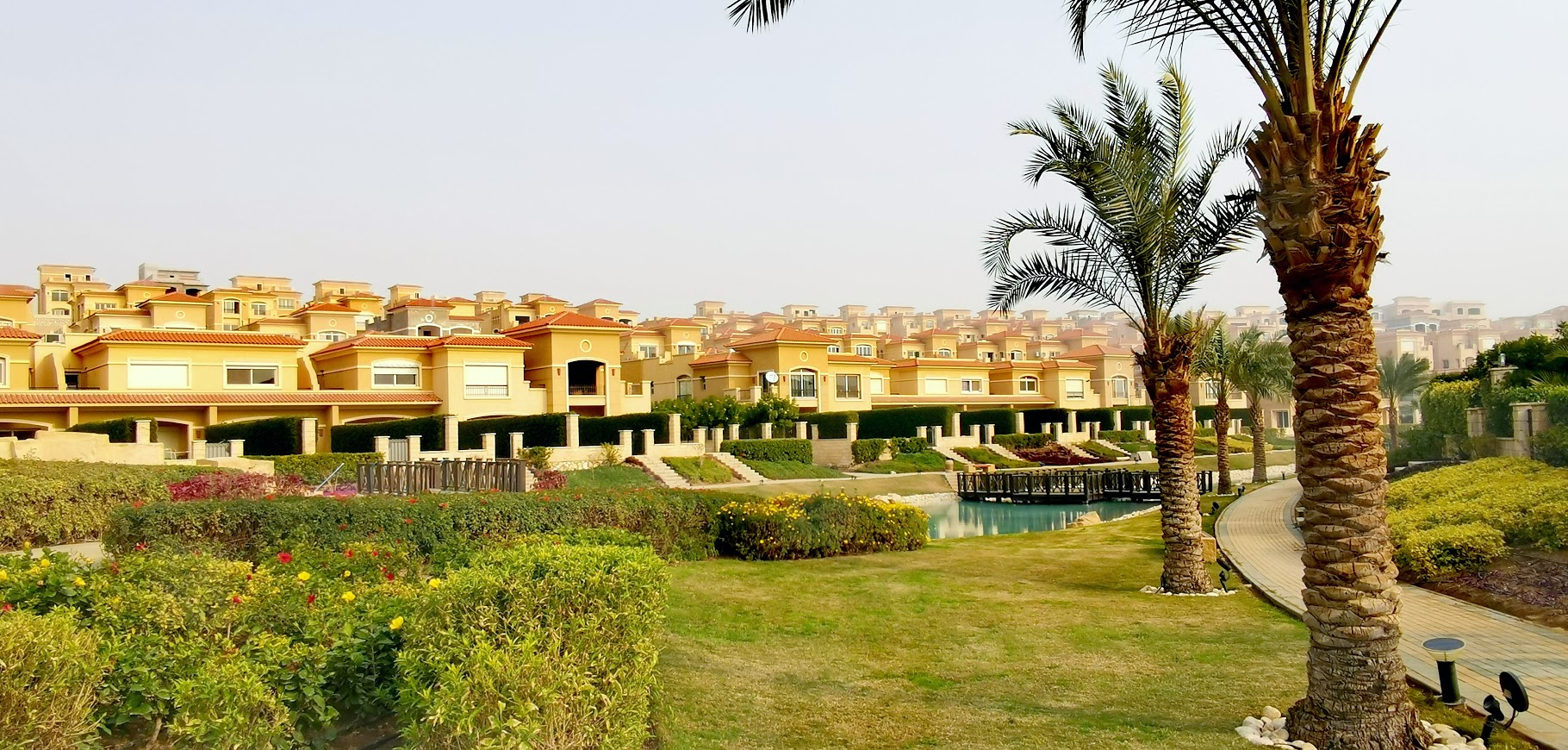 Villas in stone park new cairo
