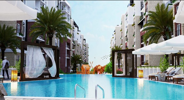 Swimming Pool in Sueno Project