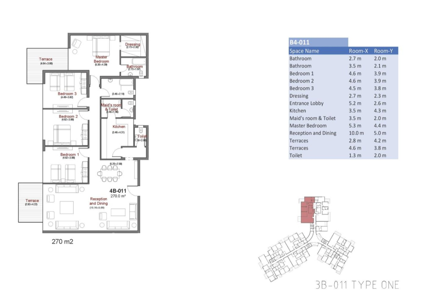master plan for apartment in the capital way