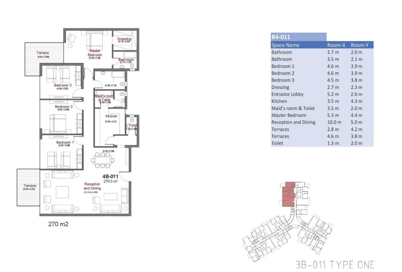 master plan for apartment in Capital Way New Capital