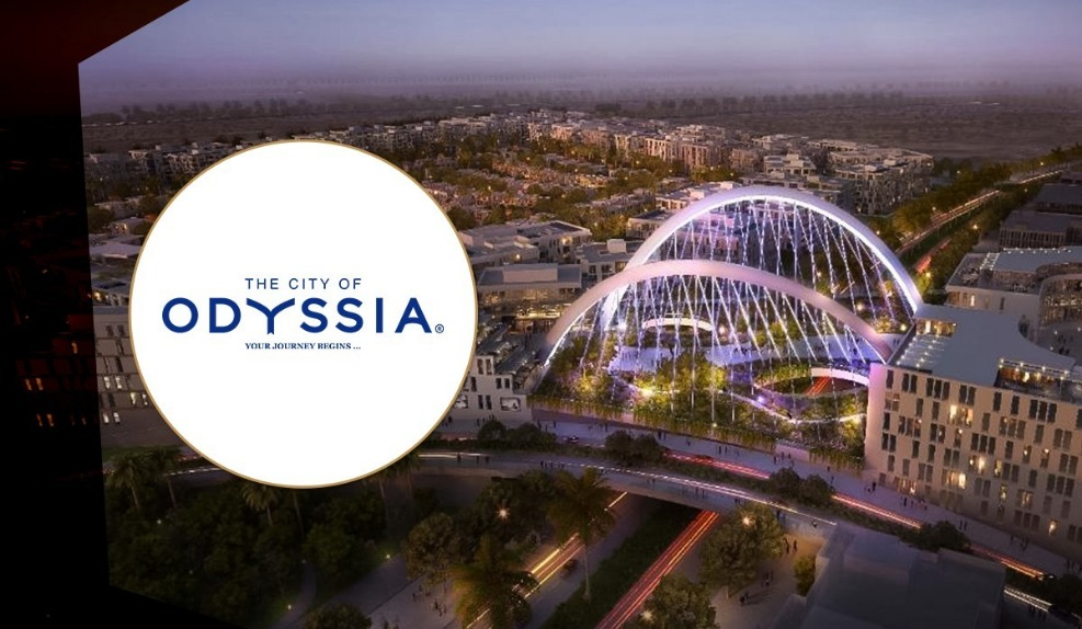 the city of odyssia logo
