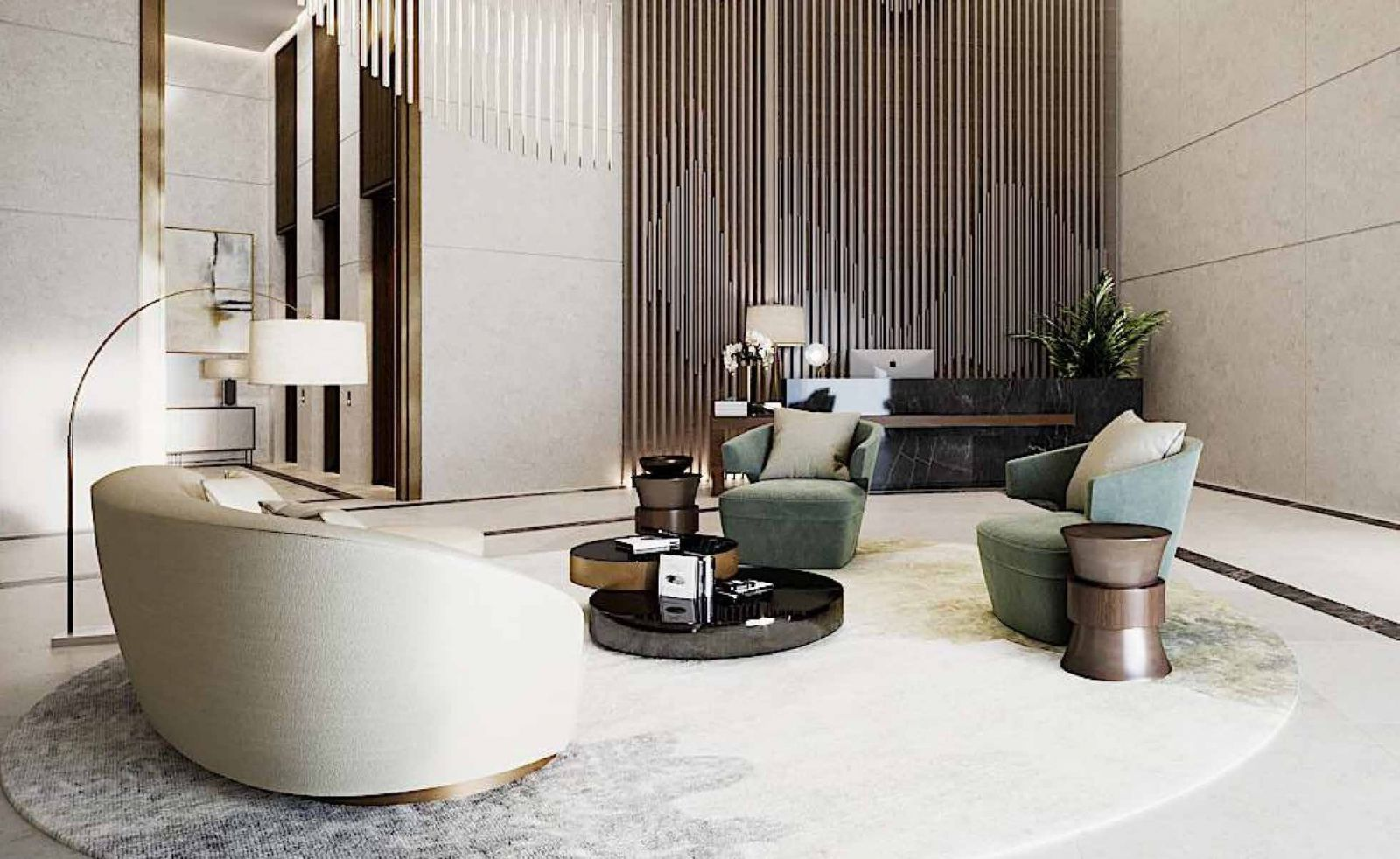 Modern and luxurious Designs in Zed Towers