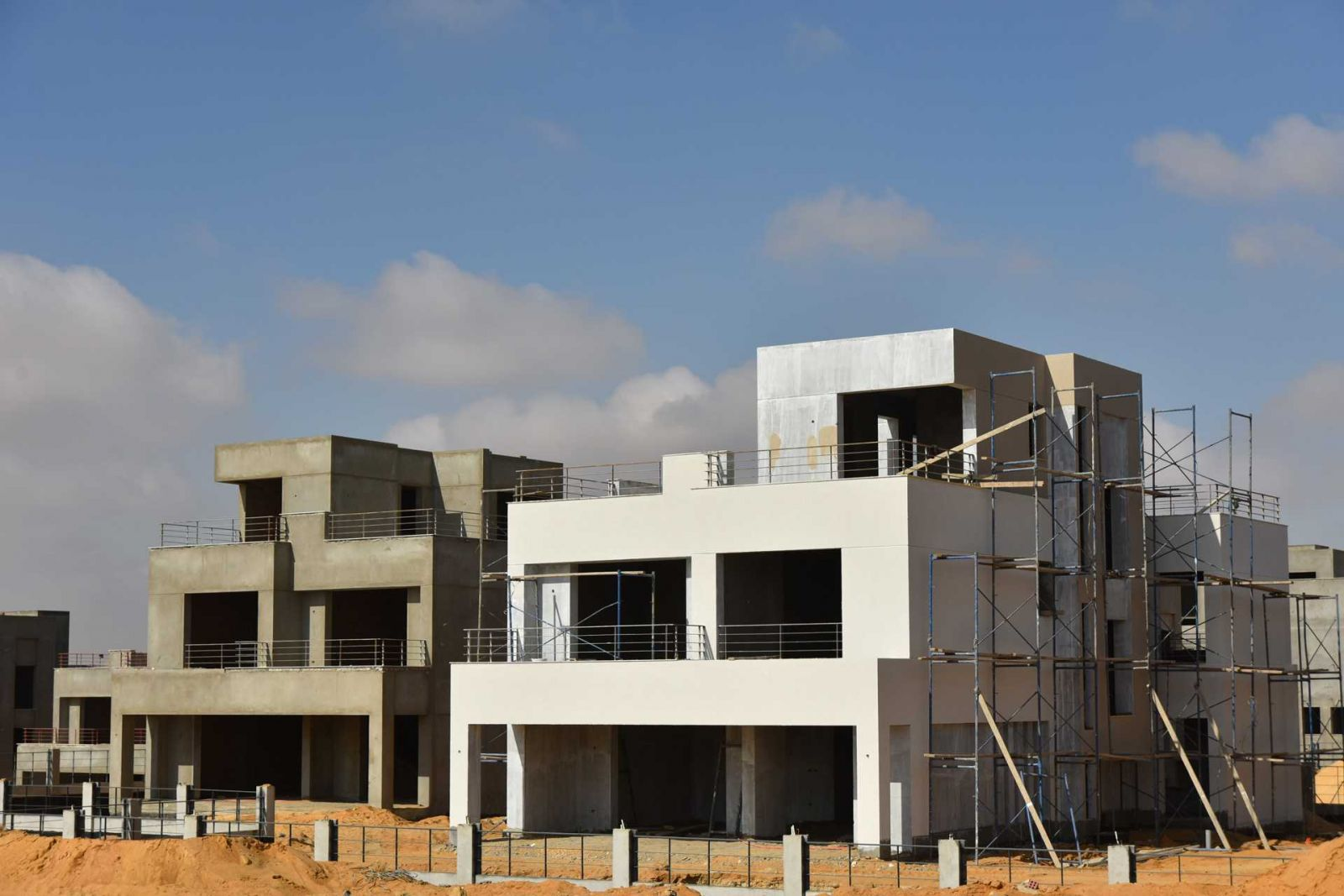 Palm Hills New Cairo -Constructions