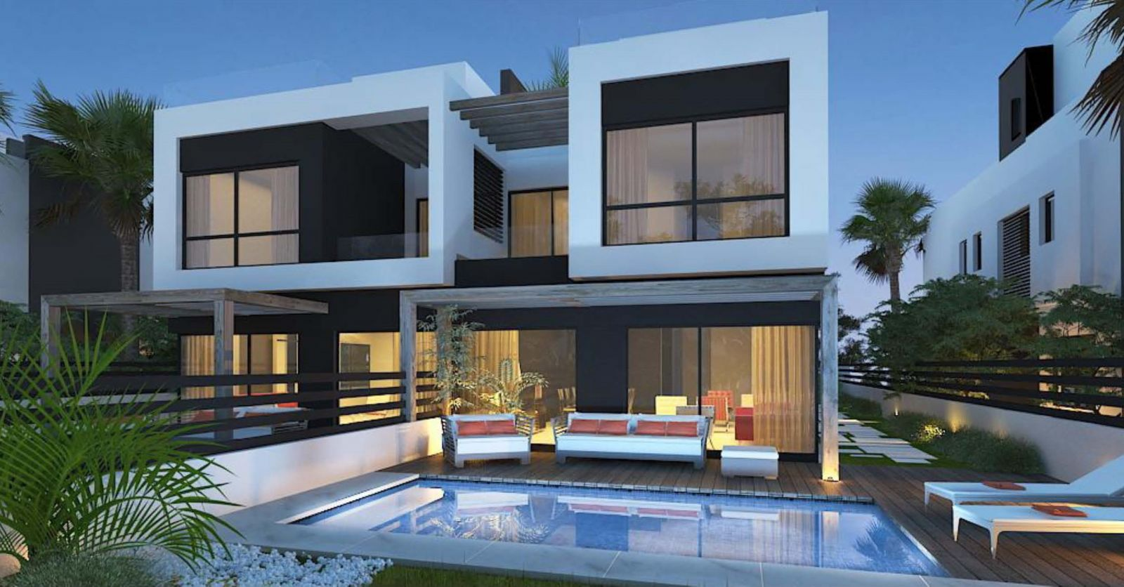 Twin-Houses-For-Sale-in-Palm-Hills-New-Cairo