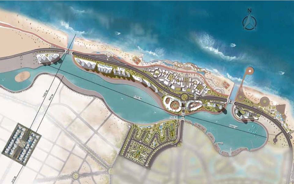 downtown-new-alamein-master-plan