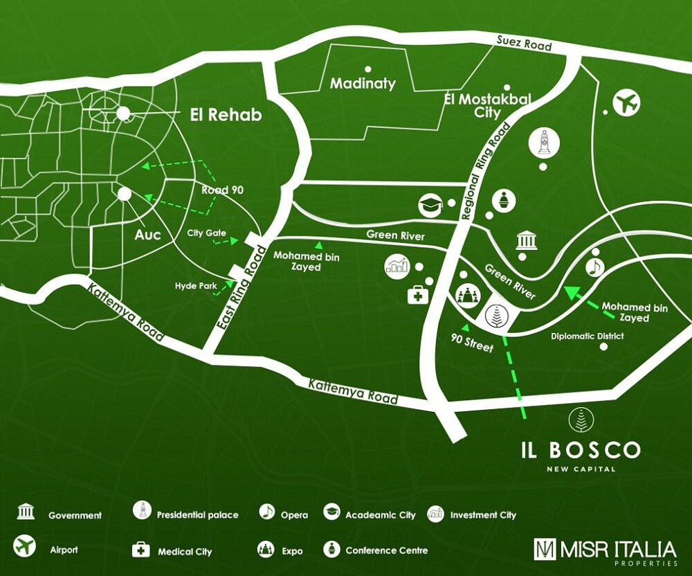 il bosco compound's location