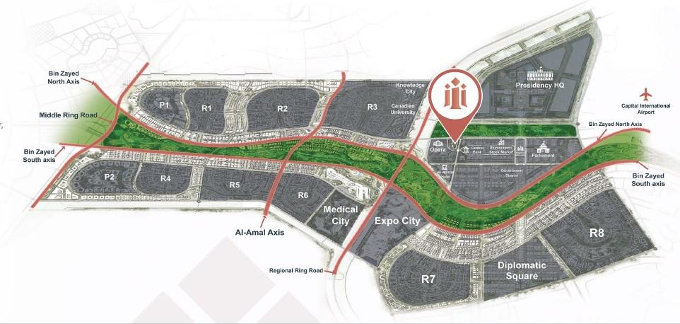 inizio-new-capital-mall-map
