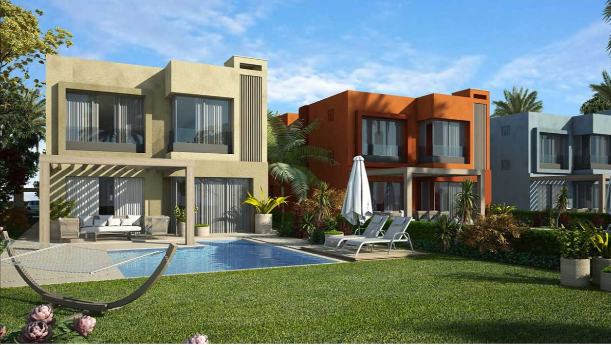 villas for sale in palm hills sokhna