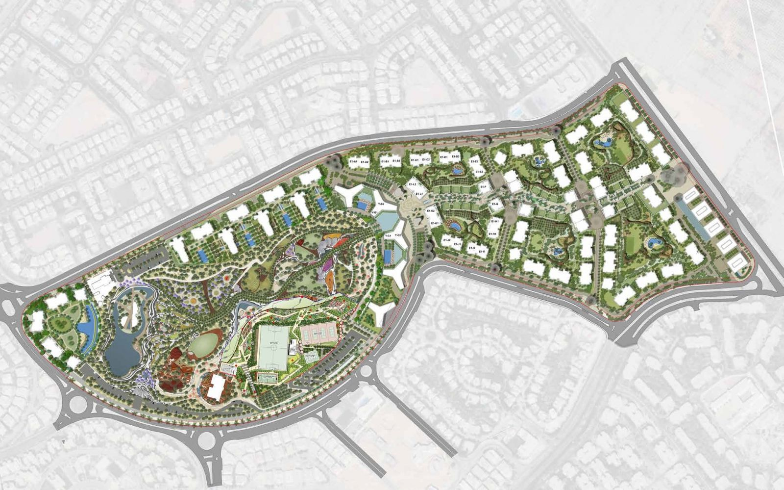 Zed Towers Sheikh Zayed Master Plan