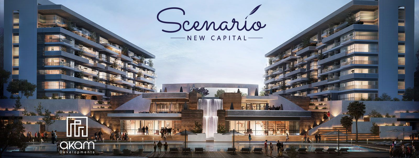 Scenario compound's unites in new capital