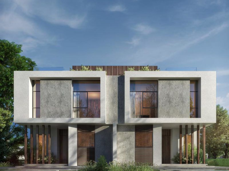 Twin Villa in vinci compound