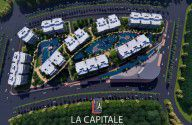 شقة في لا كابيتال ايست العاصمة الإدارية الجديدة بمساحة 166 متراً