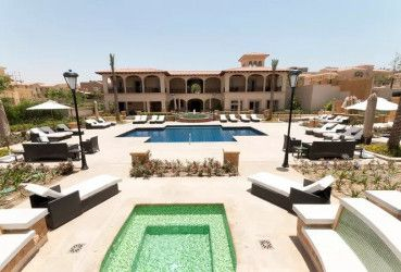 Villa with area of 1350 m² in Uptown Cairo compound