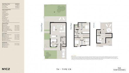 Town house in Al Burouj area 300 m² for sale.