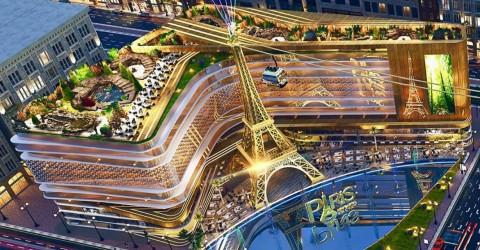 المكاتب في مول باريس العاصمة الجديدة