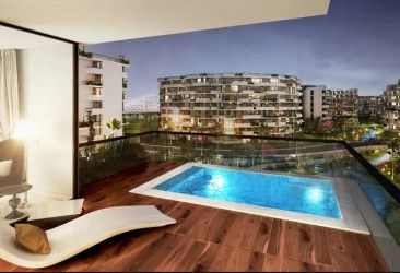 Apartments for sale in Entrada new capital With space of ​​152 m.