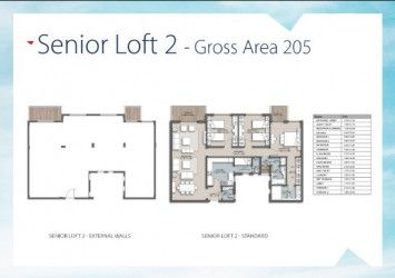 Apartment 205 m in The Loft Compound new capital.