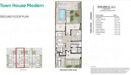 Master Plan for Town house In Zahya New Mansoura.