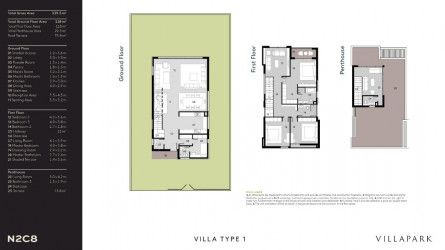 Villa 340 m² in Al Burouj Compound el Shorouk City.