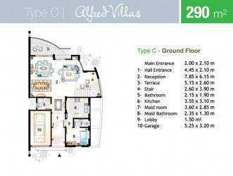 Design villa 290 meters in Marseilla Beach 4