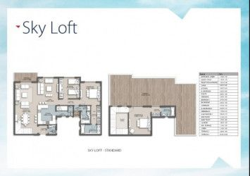 .Diagram For Penthouse in The Loft Compound New Capital