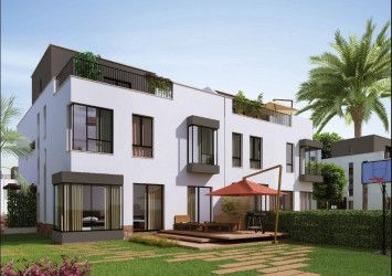 Twin House with an area of 310 meters in Villette