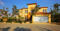 Villas in Uptown Cairo compound with an area of 478m