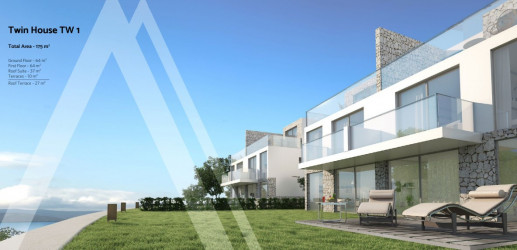 Townhouse 115 meters in IL Monte Galala