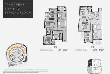Apartments in Rhodes new capital starting from 209 m².