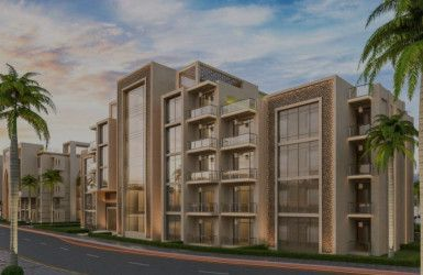 Apartments in the Canyon Mostakbal City