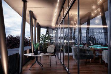 .شقة بارك لين العاصمة الجديدة بمساحة 181 متراً
